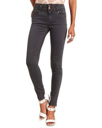 Charlotte Russe Refuge High Waisted Colored Skinny Jeans | Where ...
