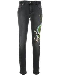 Gucci Skinny Dragon Jeans
