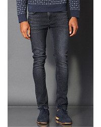 Forever 21 Skinny Fit Grey Scale Wash