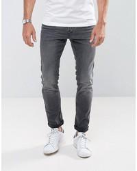 Tom Tailor Skinny Jeans In Black Wash