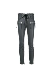 Unravel Project Lace Up Biker Trousers