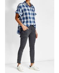 J Brand Low Rise Skinny Cargo Pants