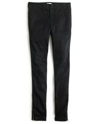 J.Crew Petite Skinny Stretch Cargo Pant With Zippers