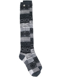 Twin-Set Jacquard Socks