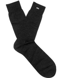 Saint Laurent Mlange Cashmere Socks
