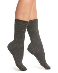 Moda cashmere blend crew socks medium 834754
