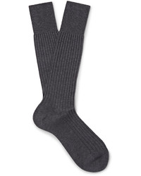 Prada Ribbed Cotton Socks