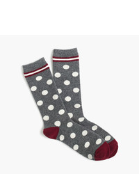 Trouser socks in big dot medium 822098