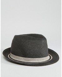 Charcoal Straw Hat