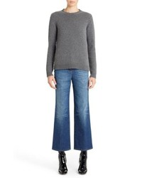 Valentino Studded Crewneck Cashmere Sweater