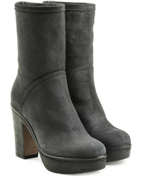 Fiorentini+Baker Fiorentini Baker Suede Ankle Boots With Platform
