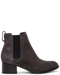 Rag & Bone Rag And Bone Grey Suede Walker Boots
