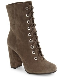 Vince Camuto Teisha Lace Up Zip Bootie