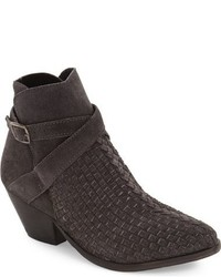 Free People Venture Woven Leather Bootie
