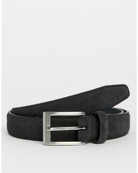 Charcoal Suede Belt