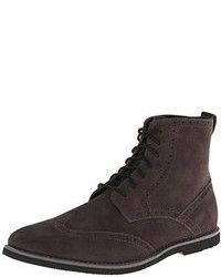 Men\'s Charcoal Suede Boots by Calvin Klein   Men\'s Fashion