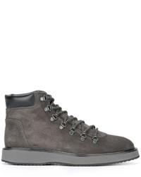 Hogan Route X Hiking Boots, $381 | farfetch.com | Lookastic