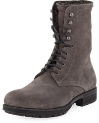 Aquatalia Hayden Fur Lined Boot Gray