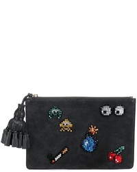 Anya Hindmarch All Over Stickers Georgiana Clutch