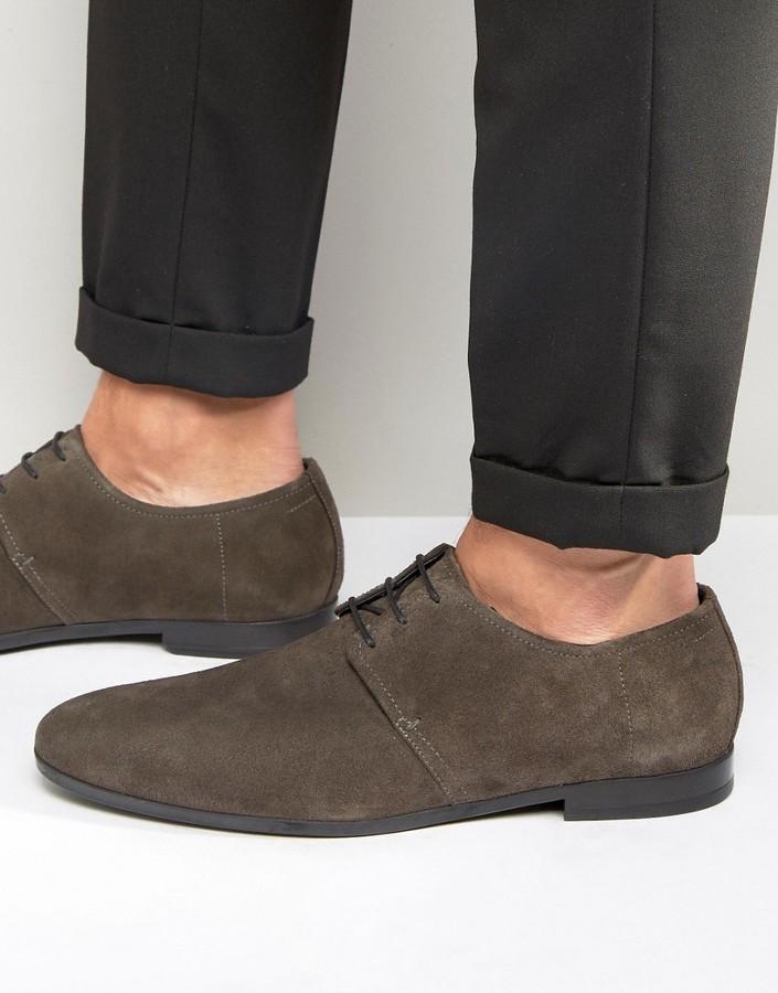 bae20560fb1 Hugo Boss Boss By Paris Suede Derby Shoes, $270 | Asos | Lookastic.com