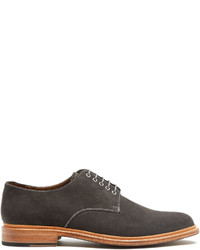 Grenson Finlay Suede Derby Shoes