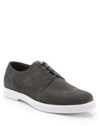 Ermenegildo Zegna Suede Derby Shoes