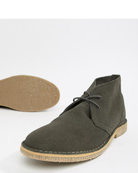 ASOS DESIGN Desert Boots In Grey Suede