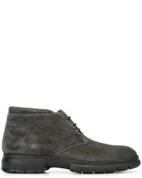 Salvatore Ferragamo Rubber Sole Desert Boots