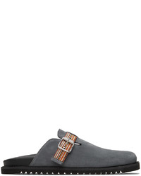 Paul Smith Grey Suede Mesa Loafers