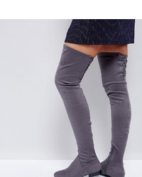 ASOS DESIGN Asos Kasba Flat Over The Knee Boots