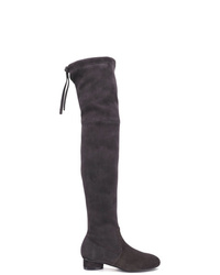 a59dd68c7b2 Women s Charcoal Suede Over The Knee Boots by Stuart Weitzman ...