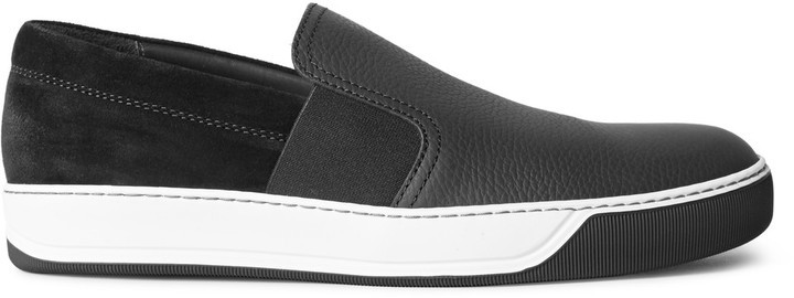 Lanvin Leather Slip On Sneakers clearance low cost order cheap price countdown package cheap sale amazing price discounts cheap online ap4yiA0Tc