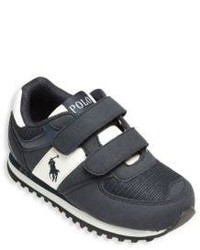 Ralph Lauren Babys Toddlers Suede Mesh Sneakers