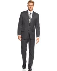 Izod Charcoal Solid Suit