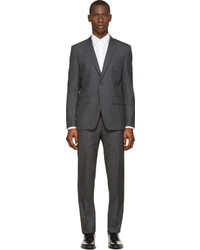Givenchy Grey Two Piece Slim Fit Suit