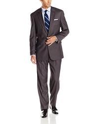 Louis Raphael Louis Raphl Classic Fit 2 Button Center Vent Pleated Super 150s Suit