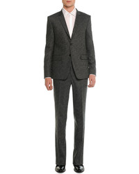 Givenchy Two Button Suit Charcoal