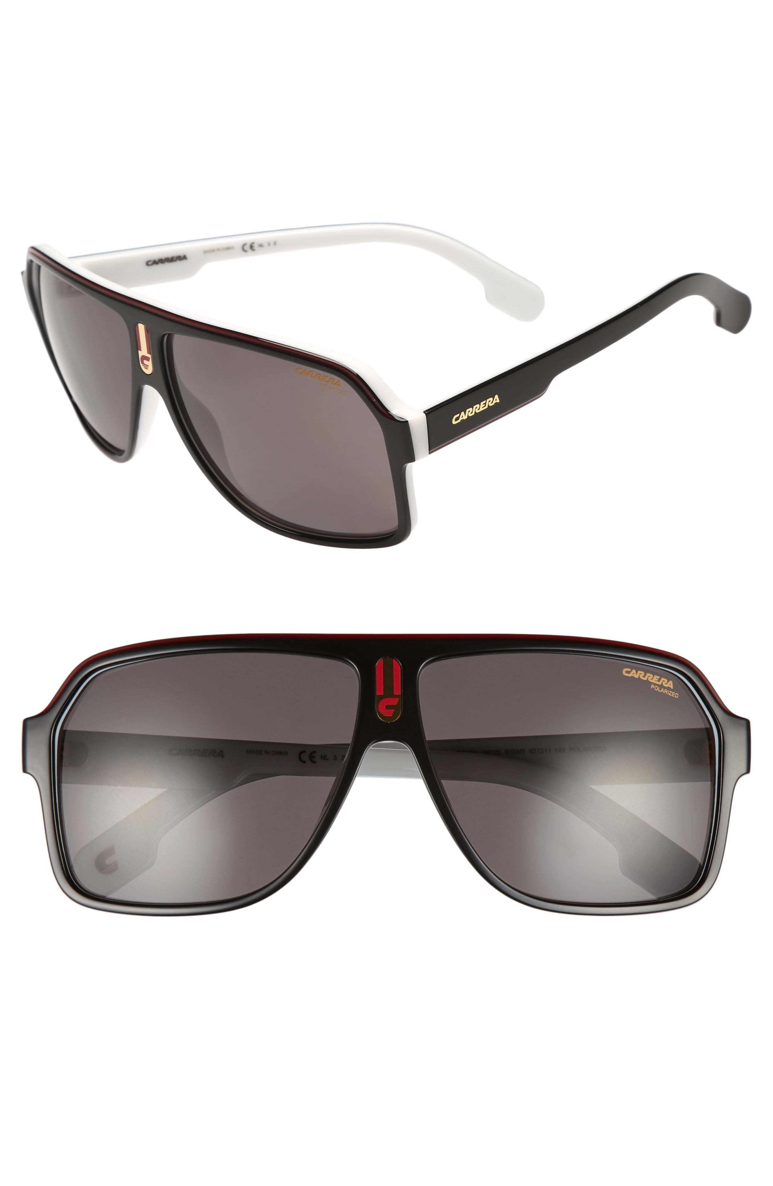 Carrera Eyewear 1001s 62mm Sunglasses