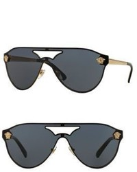 Versace 42mm Pilot Sunglasses