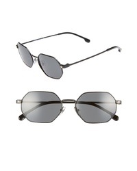 Versace 53mm Hexagon Sunglasses