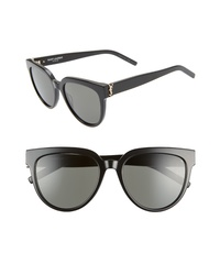Saint Laurent 54mm Cat Eye Sunglasses