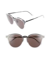 Bottega Veneta 56mm Round Sunglasses