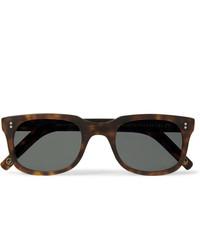 Kingsman Culter And Gross Square Frame Matte Tortoiseshell Acetate Sunglasses