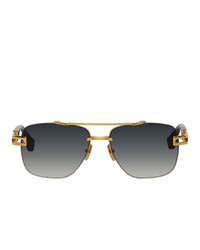 Dita Gold And Black Grand Evo One Sunglasses