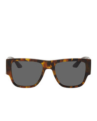 Versace Greca Rectangular Sunglasses