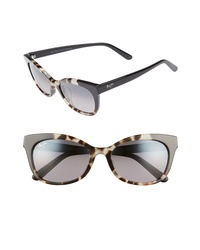Maui Jim Ilima 53mm Polarizedplus2 Cat Eye Sunglasses