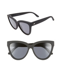 Le Specs Liar Liar 57mm Polarized Cat Eye Sunglasses