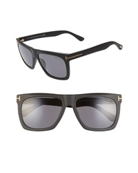 Tom Ford Morgan 57mm Polarized Sunglasses