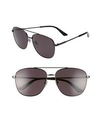 Gucci Navigator 61mm Aviator Sunglasses
