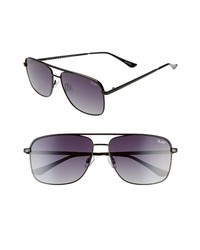 Quay Australia Poster Boy 60mm Polarized Square Sunglasses